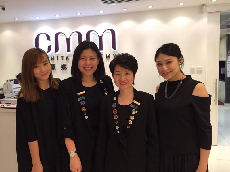 M.A.C專業化妝師為CMM學員分享及示範潮流妝容