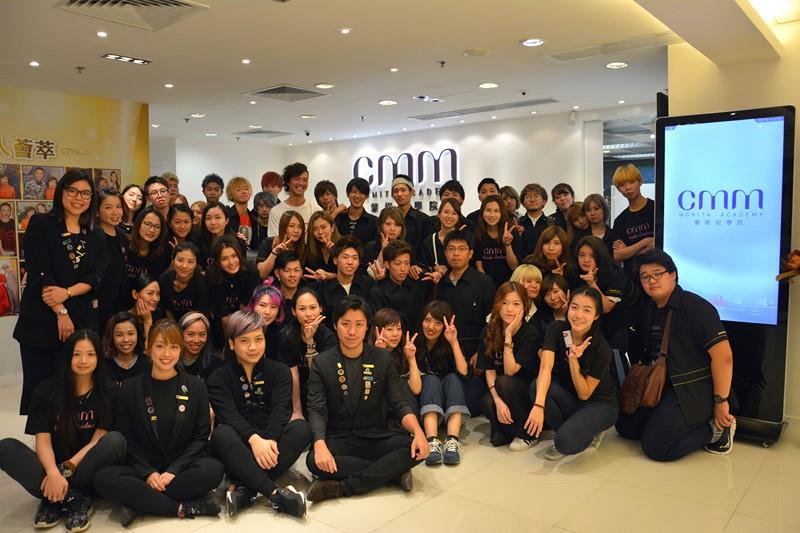 日本福岡美容學校一眾師生共40人首次到訪CMM學院