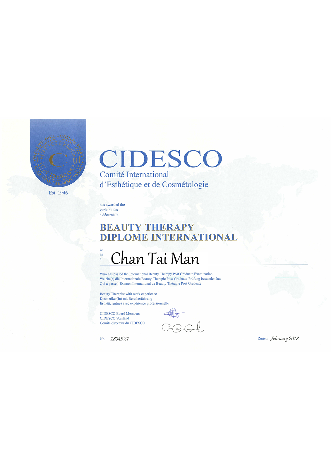 CIDESCO_beauty_therapy