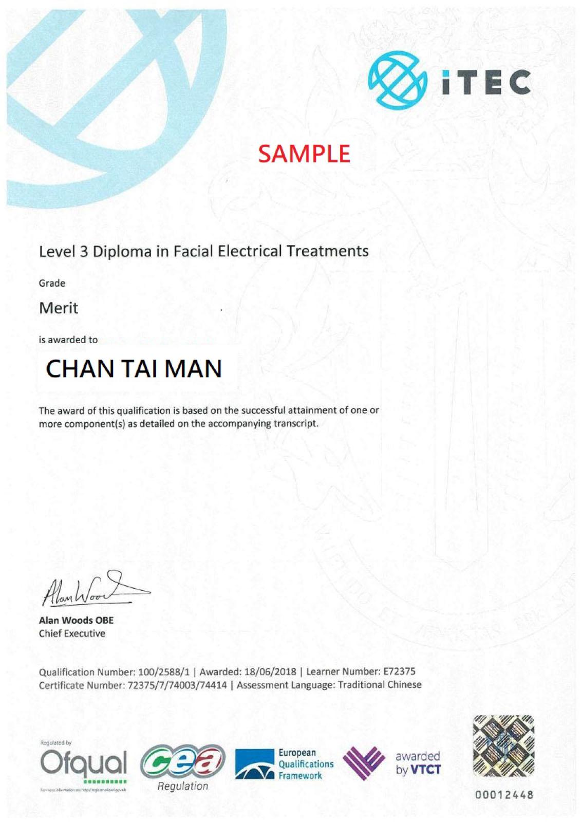 ITEC_Facial_electrial_treatments