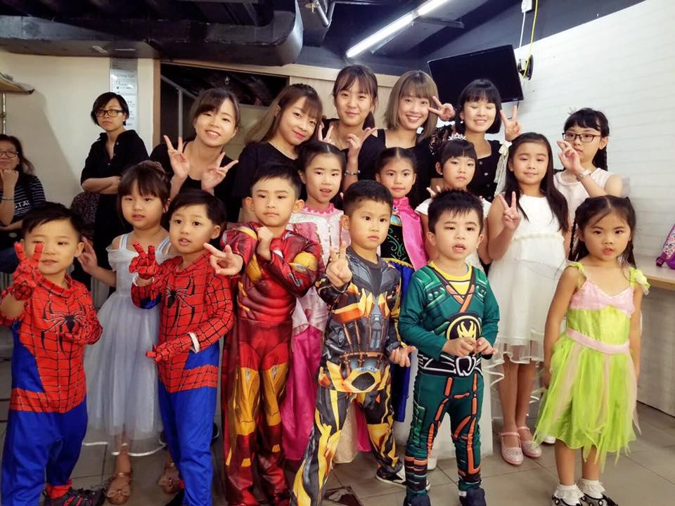 2018年Ng Music大匯演演員化妝