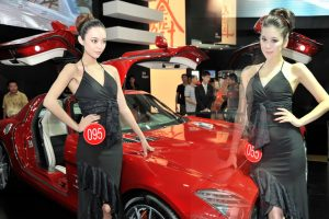 Mercedes-Benz 車度展覽Car Girl 化妝Outjob2
