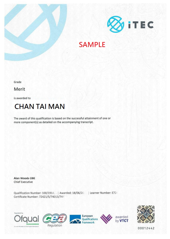 ITEC SAMPLE